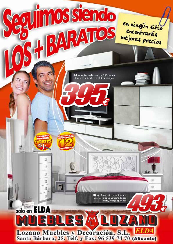 Catalogo Muebles Lozano By Misfolletos Com Misfolletos Com Issuu