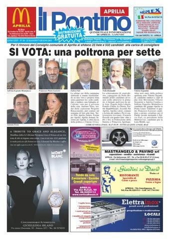 timeless design 290b7 544d9 Pontino Aprilia n. 10-13 by Il Pontino Nuovo, Aprilia - Il Litorale ...