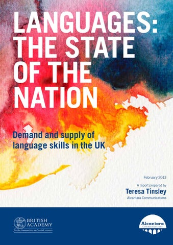 Languages: State of the Nation - Full report by British