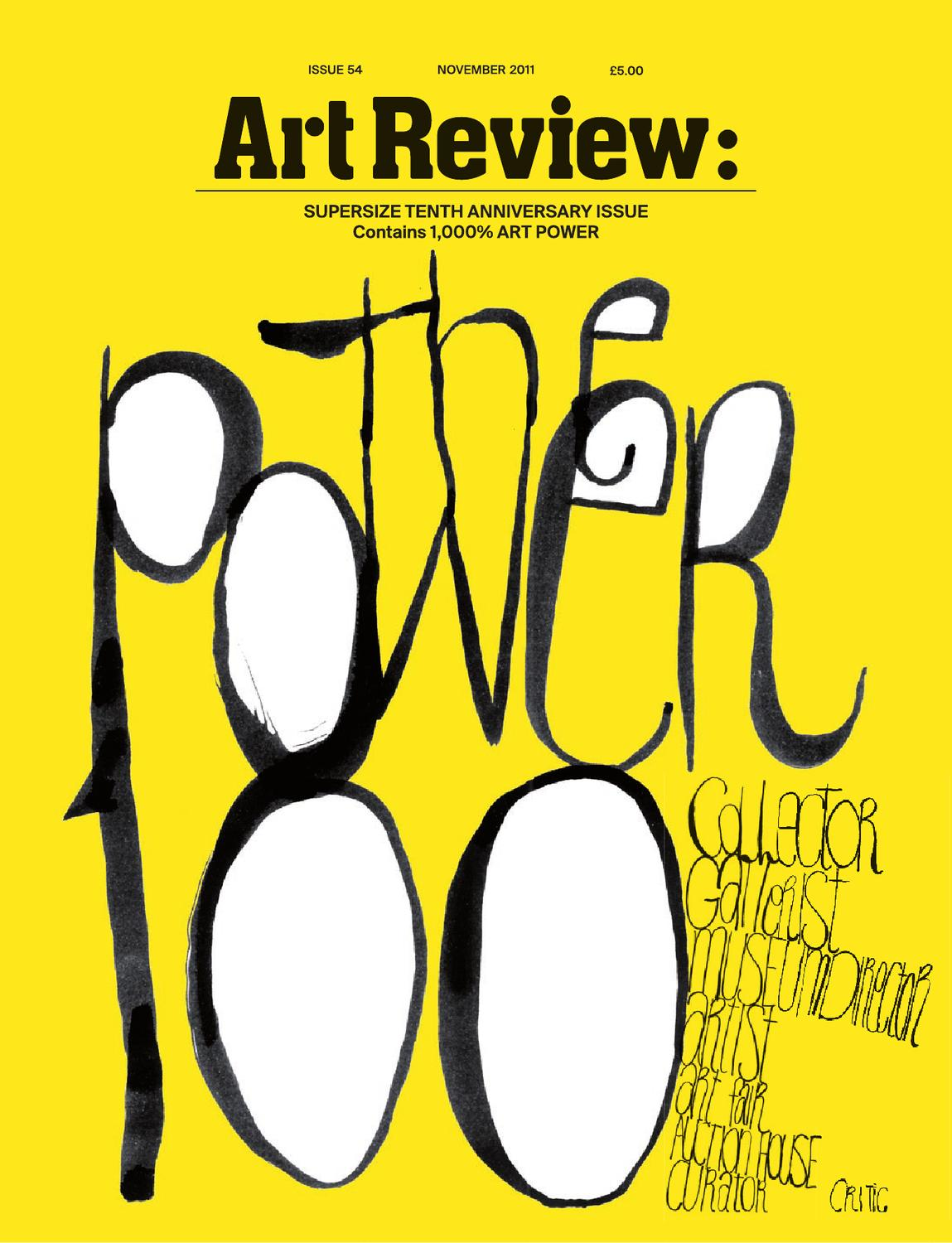Artreviewnovember2011 By D360 Colectivo Issuu