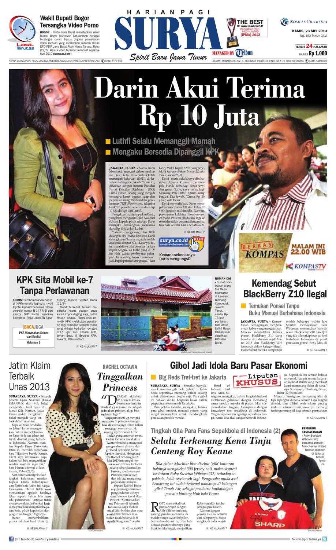 E-paper Surya Edisi 23 Mei 2013 by Harian SURYA - issuu bb8a8f232c