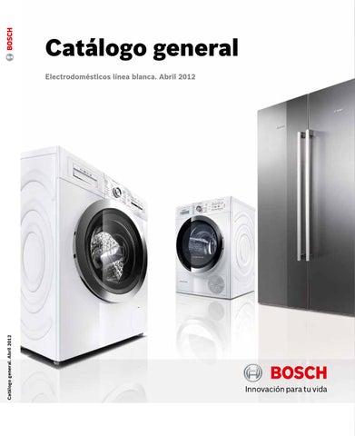 Catálogo Electrodomesticos Bosch By Patner Iberia Issuu