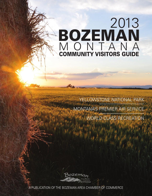 Bozeman, Montana Travel Planner by Kyle McGowan - issuu