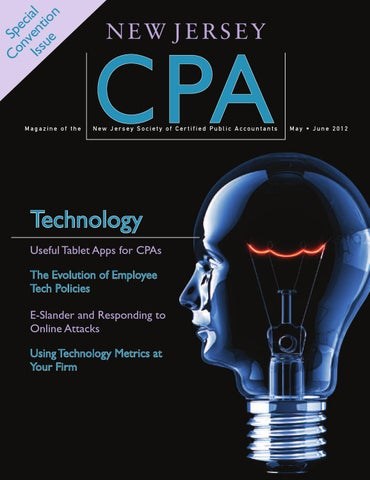 New Jersey Cpa Mayjune 2012 By New Jersey Society Of Cpas Issuu