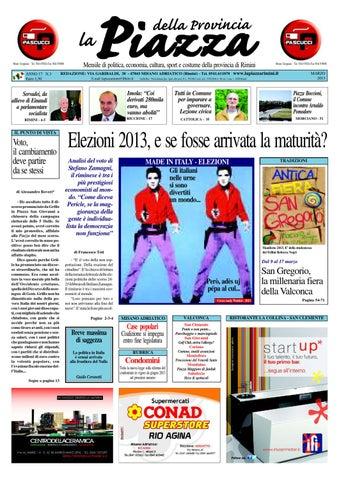 2013 03 La Piazza Delle Province Di Rimini E Pesaro By La Piazza