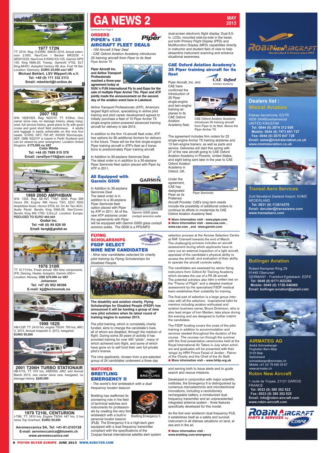GABuyer Europe June 2013 by AvBuyer Ltd  - issuu
