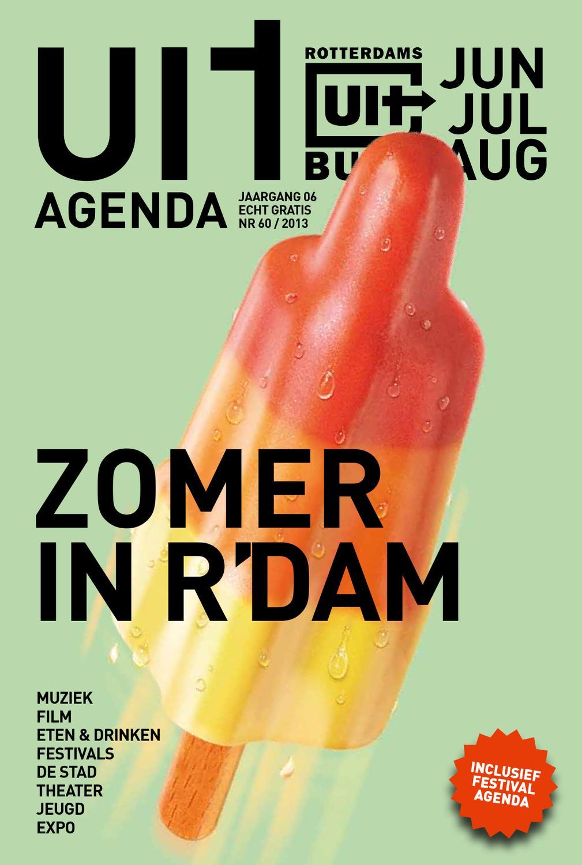 Uitagenda zomer 2013 by rotterdam festivals issuu for Uit agenda rotterdam