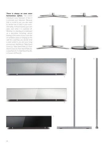 individual slim frame en by loewe issuu. Black Bedroom Furniture Sets. Home Design Ideas