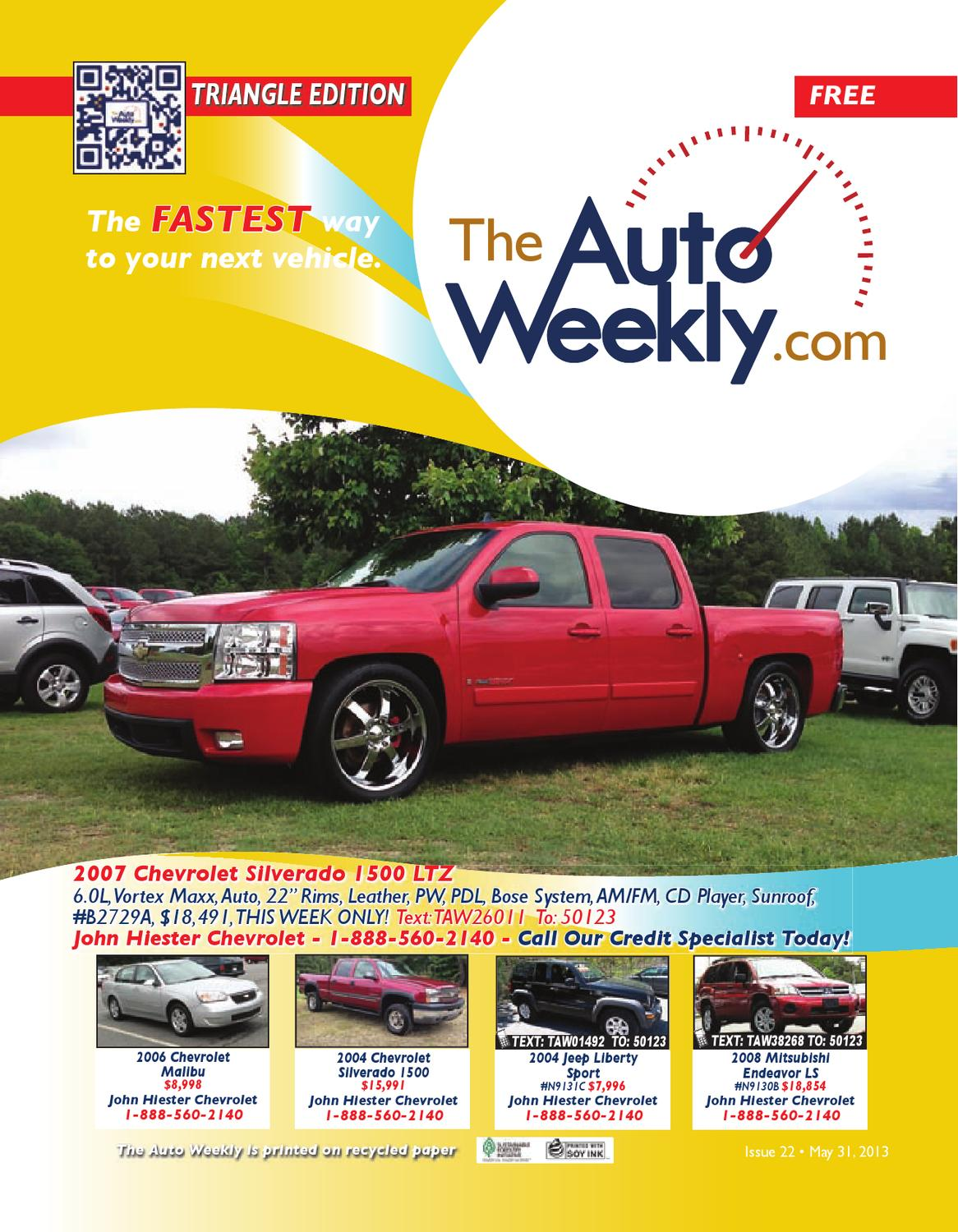 Issue 1322a Triangle Edition The Auto Weekly by The Auto ...