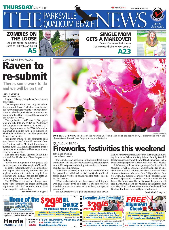 Parksville Qualicum Beach News May 23 2013 By Black Press