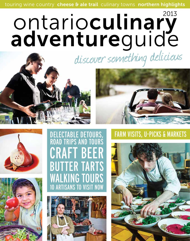 2013 Ontario Culinary Adventure Guide by Ontario Culinary Tourism ...