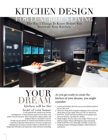 Page 76 of Kitchen Design for Luxurious Living
