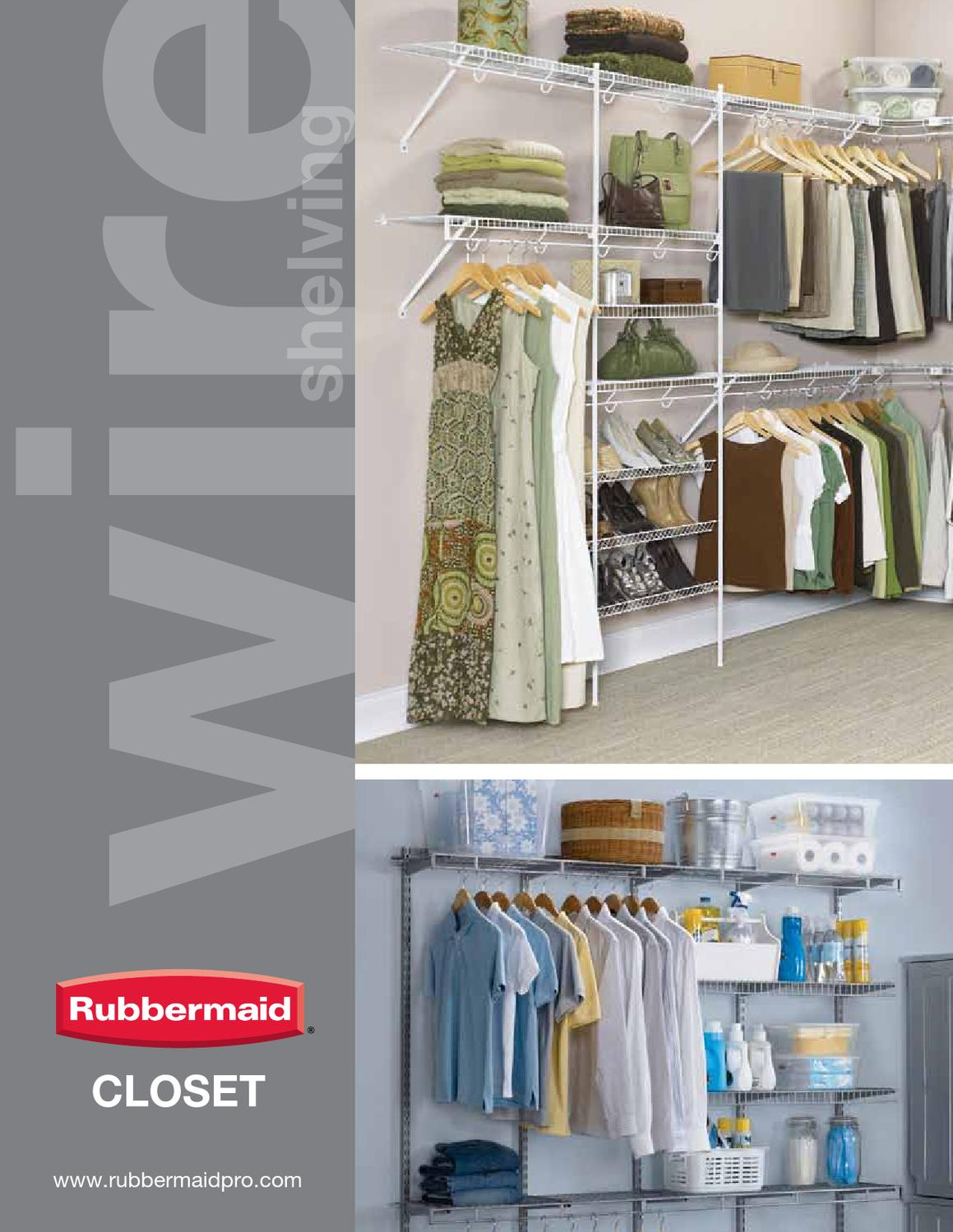 Rubbermaid Closet Shelving By Meek Lumber Company   Issuu