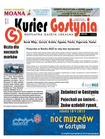f3a6f3b2 Kurier Gostynia nr 146 by Adam Wysocki - issuu
