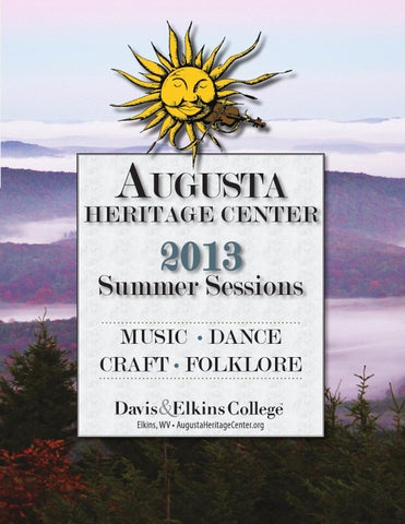 Augusta 2013 Summer Sessions By Davis Elkins College Issuu