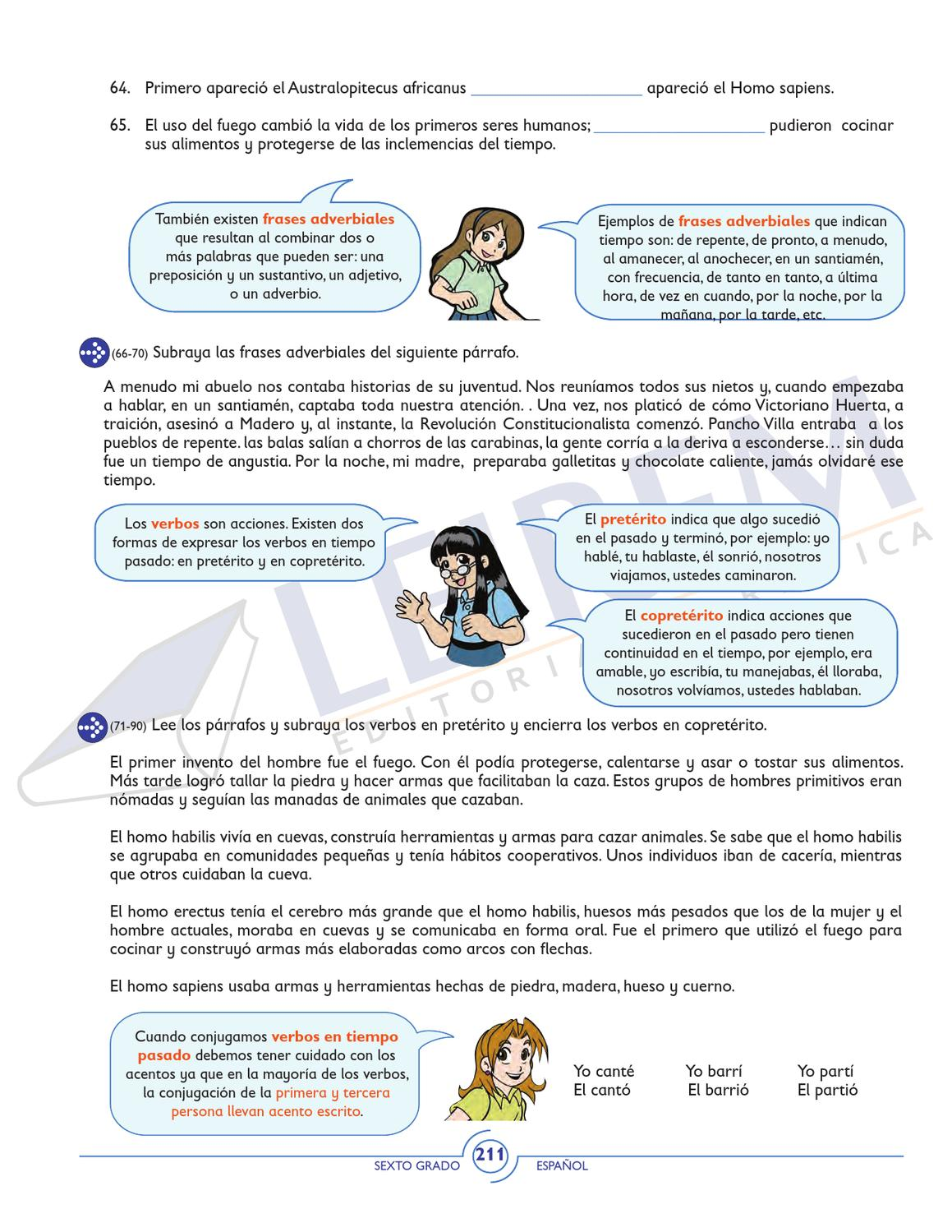 Cuaderno De Trabajo 6o By Editorial Grafica Leirem Issuu
