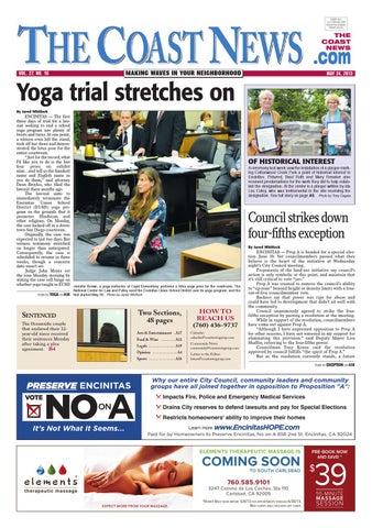 The Coast News, May 24, 2013 by Coast News Group - issuu