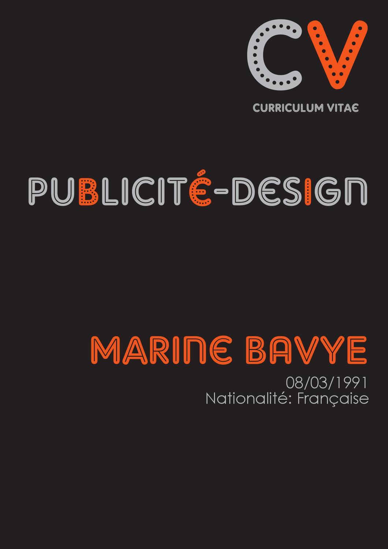 cv de marine bavye by marine ba
