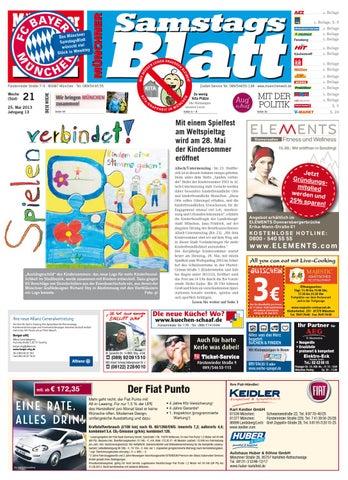 Kw 21 2013 By Wochenanzeiger Medien Gmbh Issuu