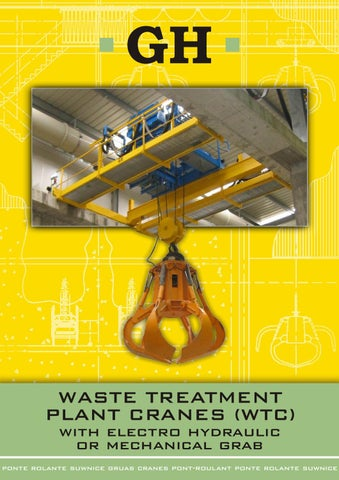 Electric Hydraulic Pump >> GH Waste Treatment Plant Cranes (WTC) by GH Crane ...