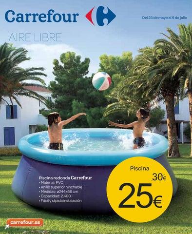 Catalogo carrefour piscinas 2013 by - Piscina de plastico carrefour ...