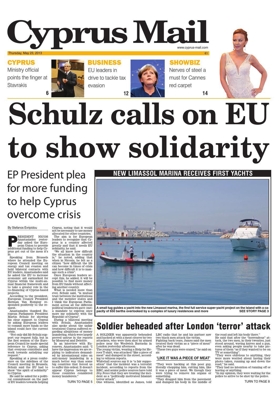 Cyprus Mail newspaper