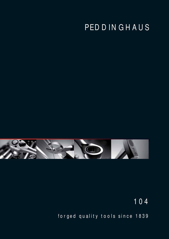 Peddinghaus Locheisen-Satz 3-50mm gerade 8004509001