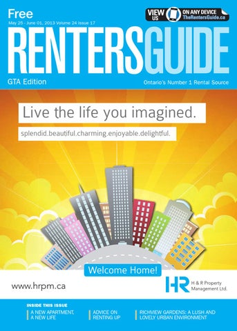 Gta Renters Guide 25 May 2013 By Nexthome Issuu
