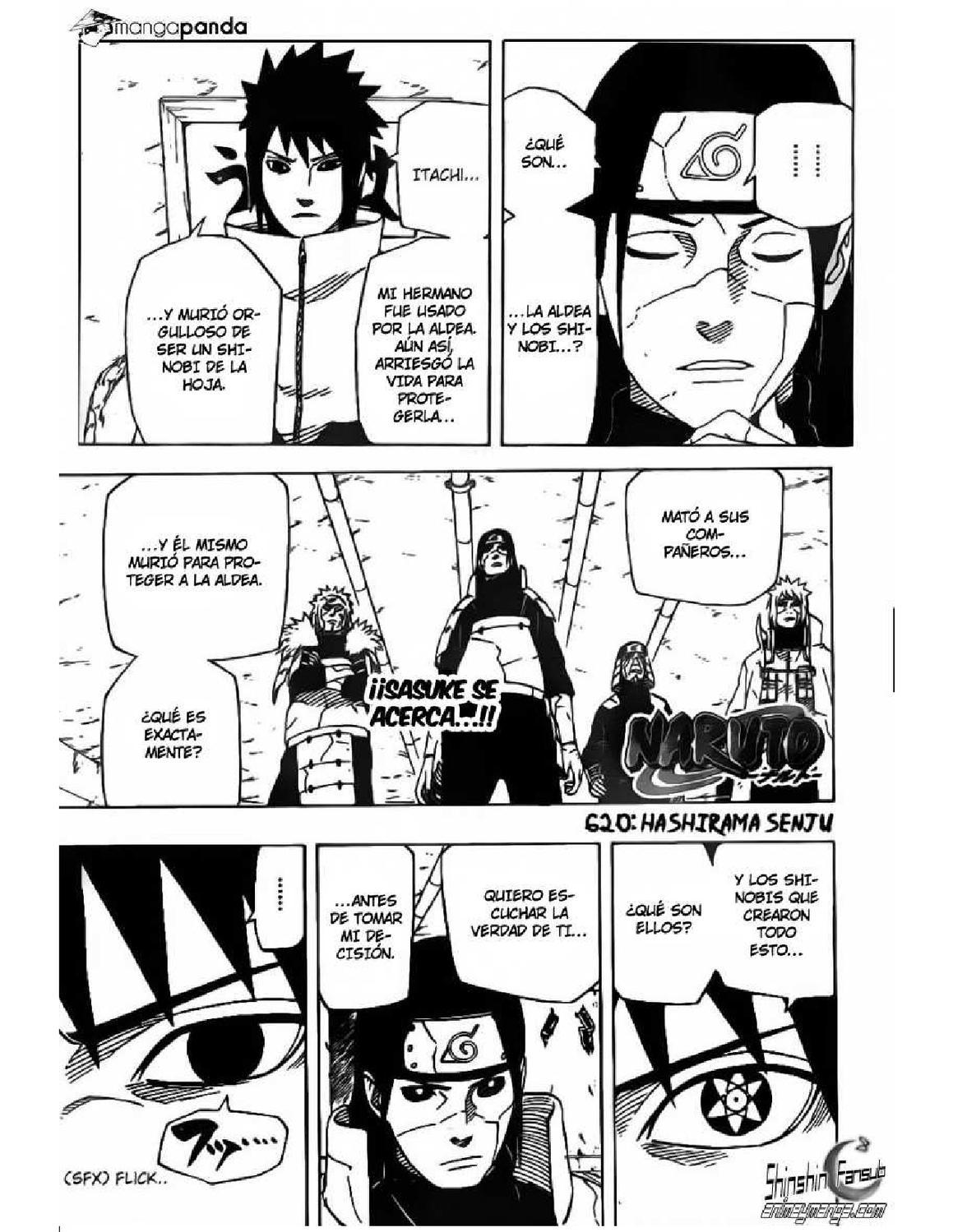 naruto shippuden manga 620