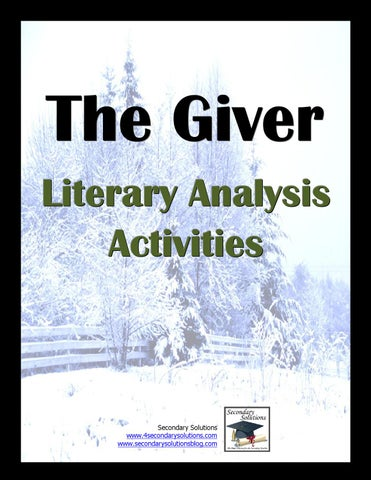 Literary Activity By Becky Neeley Issuu