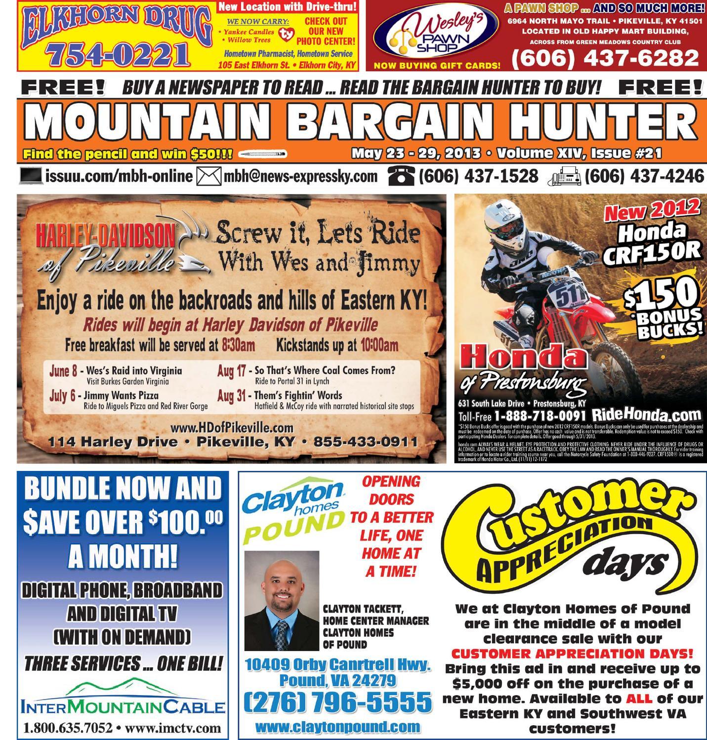 Mountain Bargain Hunter 5-23-13 by Jeff Keathley - issuu
