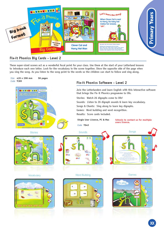2012 HK Letterland Catalogue by ETC Educational Technology