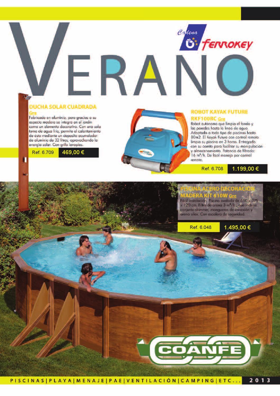 Catálogo de Piscinas para el VERANO by Benito Aviles - issuu