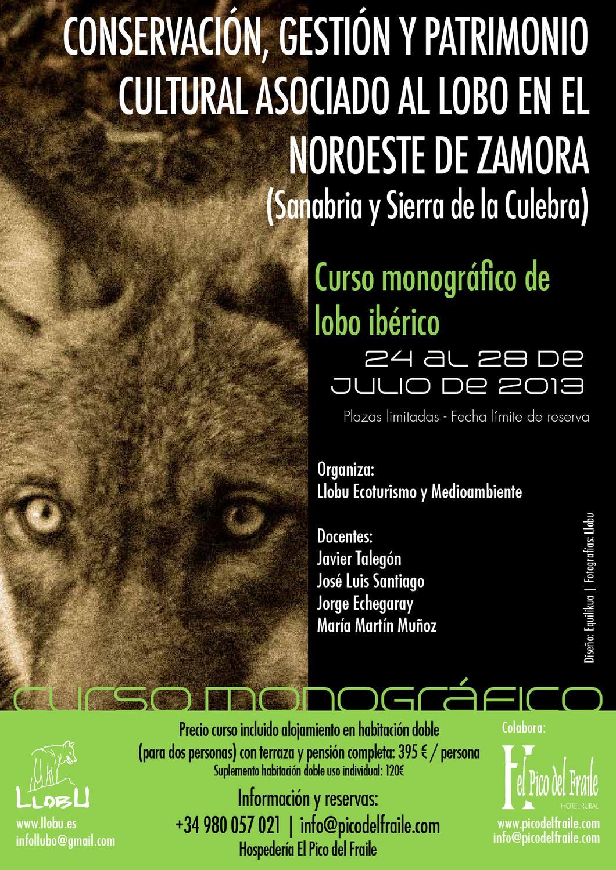 Iberian Wolf Training Course Curso Monográfico De Lobo
