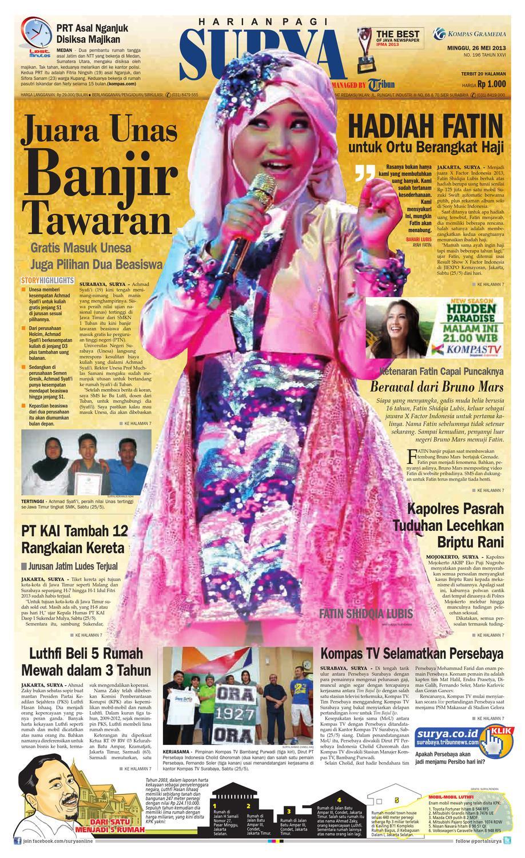 E Paper Surya Edisi 26 Mei 2013 By Harian Issuu Kopi Bubuk Asli Pagar Alam Butik 3 Size Plg