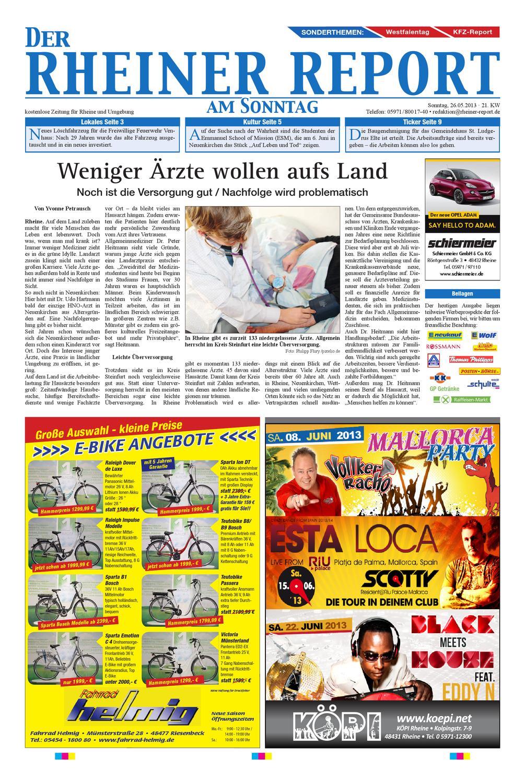 KW21-2013 by Rheiner Report GmbH - issuu