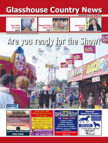 Edition 29 may 2013 by glasshouse country news issuu page 1 fandeluxe Gallery