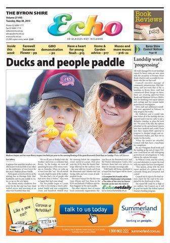 a2987f6c71f Byron Shire Echo – Issue 27.50 – 28 05 2013 by Echo Publications - issuu