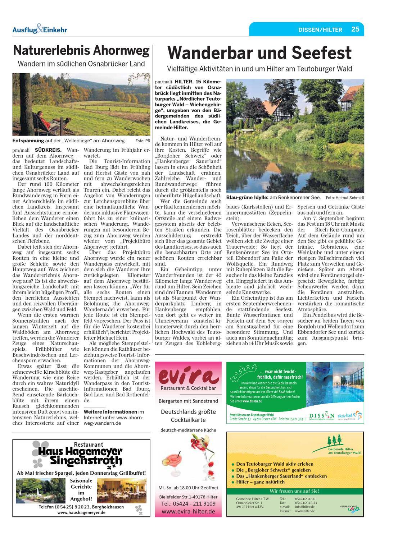 Ausflug & Einkehr by Neue Osnabruecker Zeitung   issuu