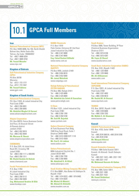 GPCA Annual Report 2012 by wesam issa - issuu