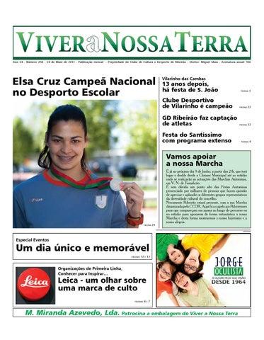 Viver a Nossa Terra - maio de 213 by Jornal Viver a Nossa Terra - issuu 1f4a260c6d