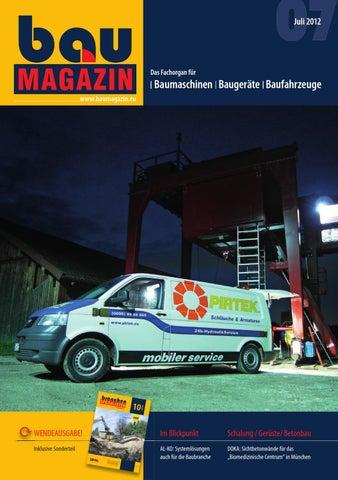 Baumagazin Juli 2010 Sonderteil Die Branchenspezialisten
