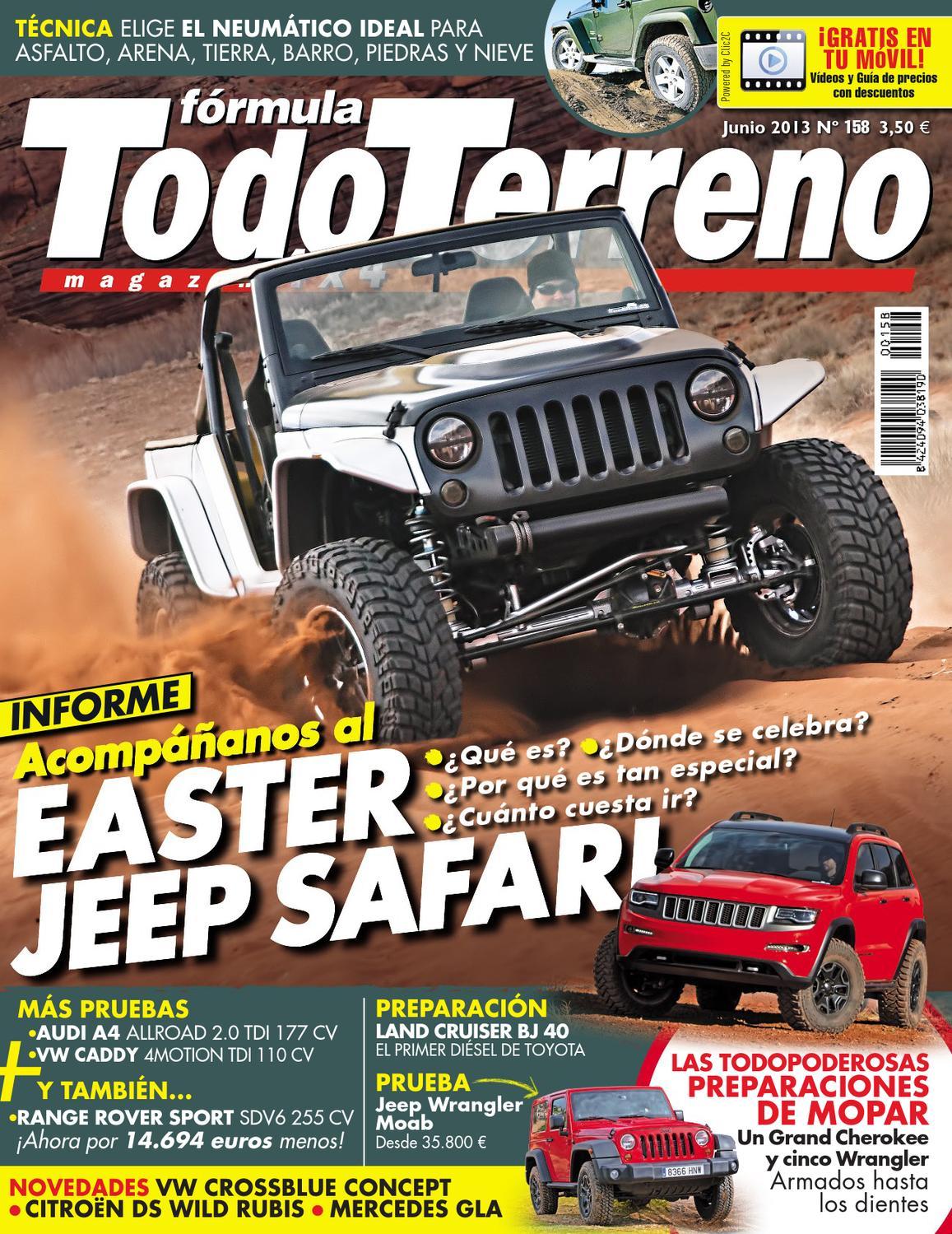 Todo Terreno Nº158 Junio 2013 by LIDER - issuu