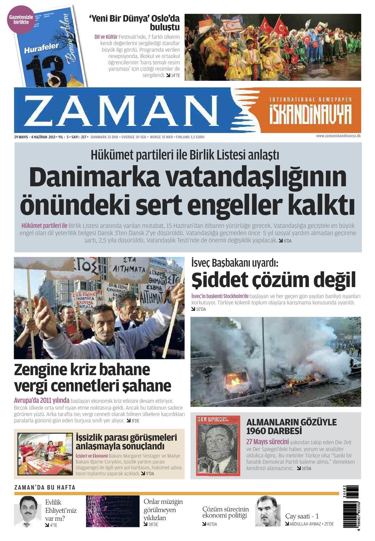Zaman 217 Egazete By Zamandk Issuu