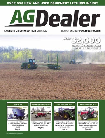 AGDealer Eastern Ontario Edition, June 2013 by Farm Business