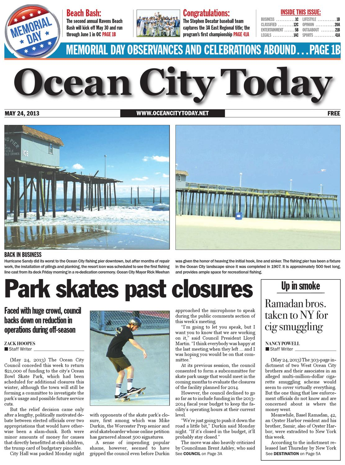 05.24.13 by ocean city today - issuu
