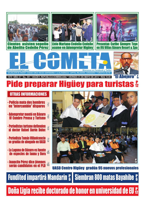 Edicion Impresa Viernes 31 De Mayo De 2013 By Rafael Andres  # Jansen Muebles Bavaro