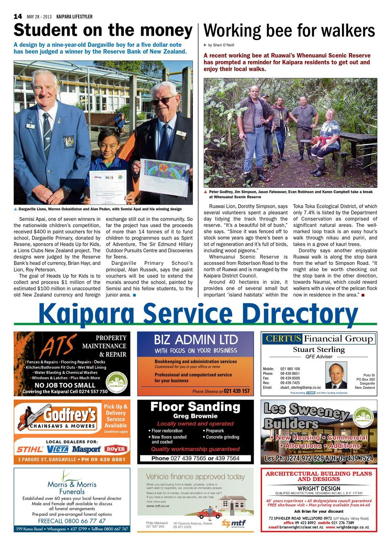 Kaipara Lifestyler May 28 2013 By Integrity Community Media Issuu