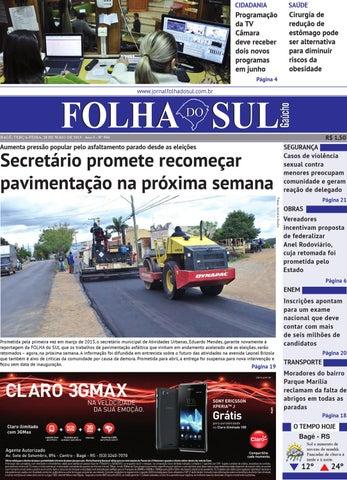 92cc9cee87 Folha do Sul Gaúcho Ed. 934 (28 05 2013) by Folha do Sul Gaúcho - issuu