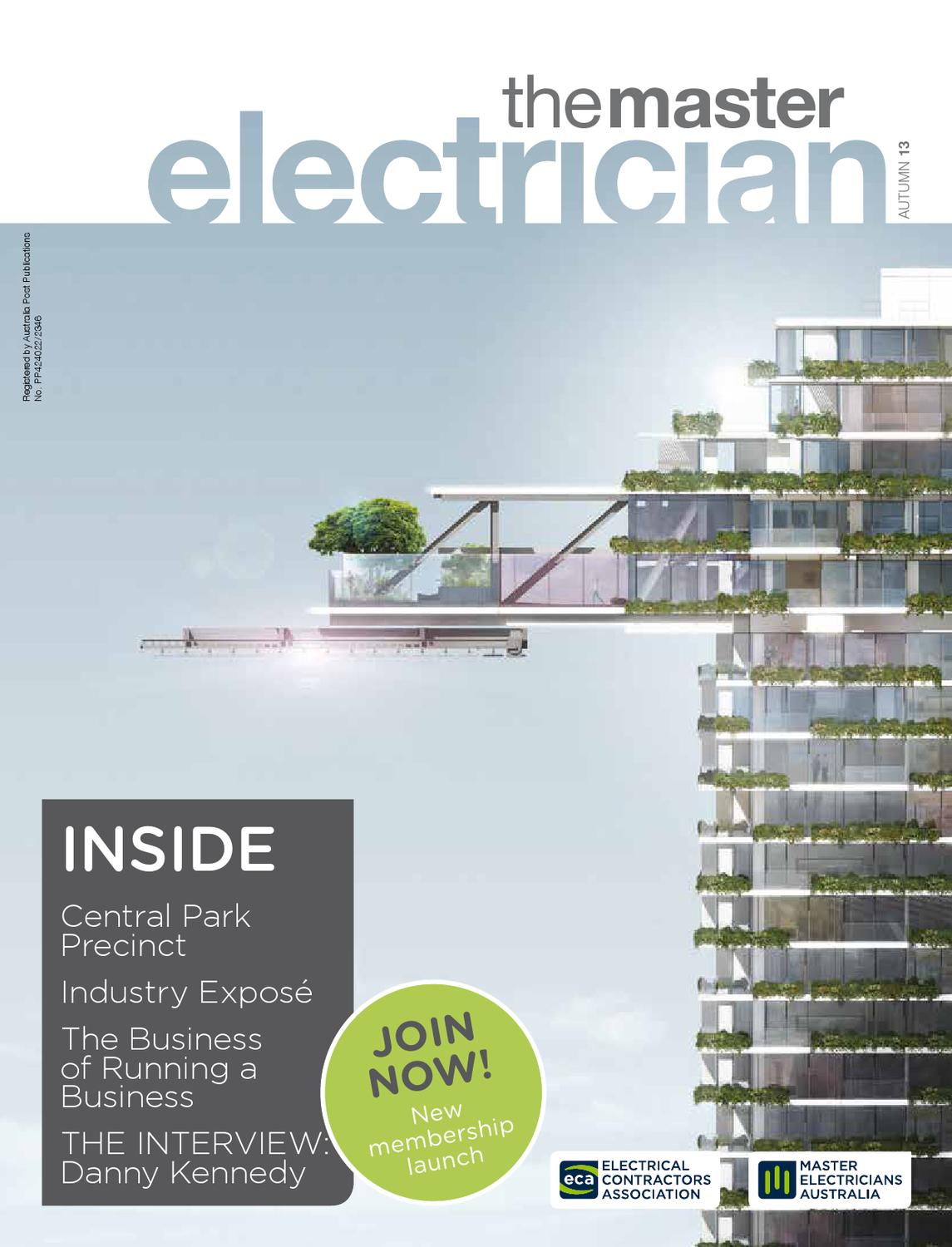 The Master Electrician Autumn 2013 By Electricians Australia Household Circuits Ausgrid Issuu